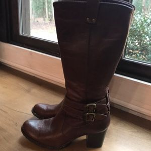 Fabulous leather Born riding boots